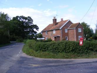 Turning to Dennington Hall including cottages