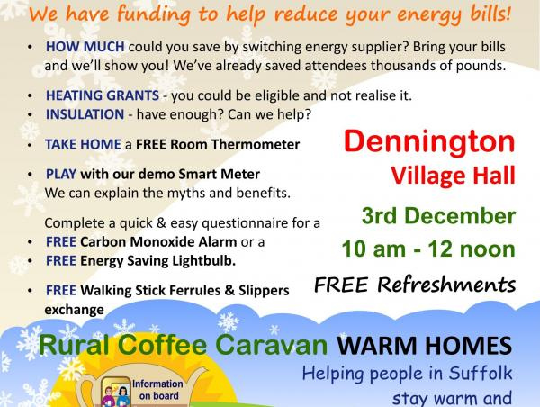 RCCWH ENERGY ADVICE CAFE A5 flyer DENNINGTON Dec 2019 copy